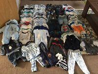Big bundle for baby boy 0-3 ( 111 items)