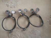 co2 gauges x 3 excellent condition