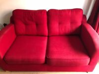 DFS 2 Seater Sofabed & Luxury Chair