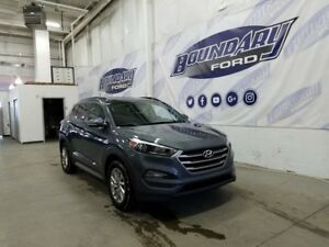 2017 Hyundai Tucson W/ Leather, Sunroof, Blind Spot Detection