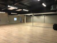 Dance/Yoga/ Fitness/Rehearsal Space. Clydebank/Glasgow