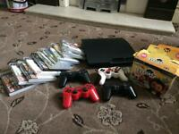 PS3 with eight games