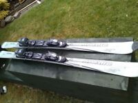 ATOMIC C:9 150cm SKIS WITH SALAMON BINDINGS