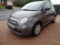 FIAT 500 POP 1.2 60 REG 2010, MOT TILL AUGUST 19, JUST SERVICED, WITH SERVICE HISTORY, EXC CONDITION
