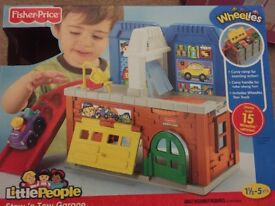 Fisher Price Stow n Tow Garage