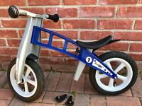 Basic Blue FirstBIKE Balance Bike