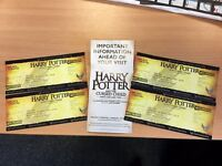 2 x Harry Potter and the Cursed Child Tickets - 30th August Part 1 & Part 2 - £300