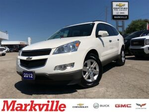 2012 Chevrolet Traverse 2LT-NAVI-ROOF-DVD-LEATHER-GM CERTIFIED-
