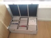 300 dvds 50 cds with a box £50