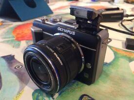 Olympus E‑PL1 12.3 MP Digital Camera - retro look