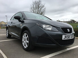 2009 (58) SEAT IBIZA S A/C 3 Door SportCoupe*3 Months Nationwide Warranty!*