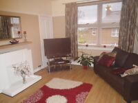 2 bedroom spacious flat for rent in Falkland, Fife, large private garden, unfurnished, available now