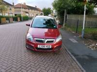 Vauxhall Zafira club 1.6L 7 seater mot until next year very clean car