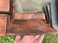 Red Sovereign Broseley roof tiles - Approx 49 - Good order