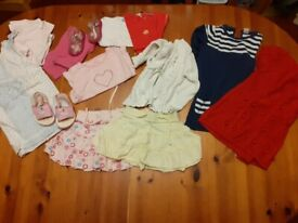 9-12 months baby girl clothes