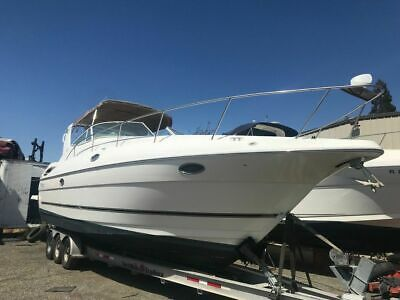 2004 Cruisers 320 Express Yacht boat cruiser Clean title project 04