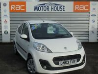 Peugeot 107 107 ACTIVE (£0.00 ROAD TAX) FREE MOT'S AS LONG AS YOU OWN THE CAR!!! (white) 2013