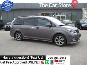 2014 Toyota Sienna SE 8 PSGR, SUNROOF, BACK CAM, BLUETOOTH
