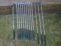 Full set of beginner clubs - Browning Premier with BayHill putter.