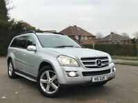 Mercedes-Benz GL Class 3.0 GL320 CDI 7 Seater Nav Panoramic Sunroof finance available 2007
