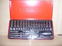 Sealey 41 Piece 1/4 inch Square Drive Socket Set