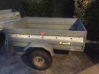 "Larger Noval tipping trailer (5ft x 3ft 6"")"