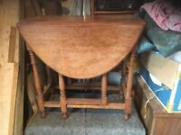 Original Oak Gate leg table