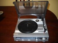 Bush record player and radio