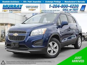 2014 Chevrolet Trax 1LT *All Wheel Drive, Rear View Camera, OnSt