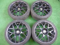 """18"""" CADES ALLOY WHEELS AUDI TT MK1, A1, S1, VW GOLF MK4, BEETLE, BORA 5 x 100"""