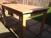 IKEA borjkudden table 75 cm x 120 cm