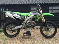 KX450F motocross