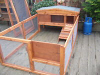 """rabbit hutch any size plastic robust 48"""" from £40 glasgow"""