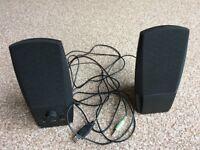 Laptop/desktop 5V 2.0 USB powered speakers