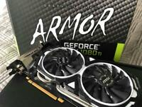 Armor Geforce 1080Ti 11GB Graphics Card*used for 5 months*warranty