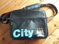 Manchester city bag. School / boy