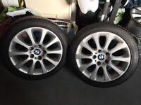 BMW alloy wheels 17 inch 8j, e46 3 series, 1 2 4 5 Z4 mini