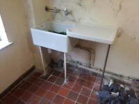 Basin. Suit old kitchen/wash room
