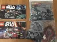 Lego starfighters