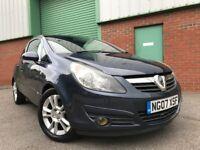 2007 (07) Vauxhall Corsa 1.2i 16v ( a/c ) SXi EXCELLENT CONDITION 3 DOOR JULY 2019 MOT