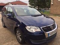 2009 Volkswagen Touran Blue Motion 1.9 diesel Long Mot Low Mileage Service History 1 Owner V Clean
