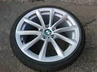 GENUINE BMW 19 INCH Z4 ALLOY WHEELS REAR 9J 5X120 255 30 19 STYLE 296 E89 E90 F30
