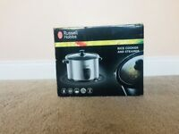 Brand New still boxed! Russell Hobbs - Rice Cooker and Steamer