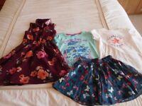 Girls Clothes Collection age 5-6 Exc condition, Sainsburys, Asda, Converse, Disney