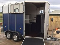 Ifor Williams horse trailer 510 blue in great condition