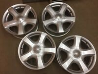 Isuzu D MAX alloy wheels