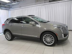 2018 Cadillac XT5 3.6 AWD LUXURY SUV WITH LEATHER INTERIOR, PANO