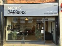 Barber Wanted Part time / Full time