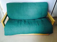 Futon Company two seater futon sofa bed