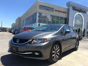2013 Honda Civic Touring -Leather - Navigation -P.sunroof